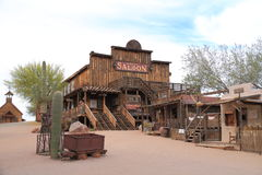 USA, Arizona: Old West - Saloon Stock Photography