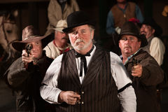 Old West Tough Men Royalty Free Stock Photos