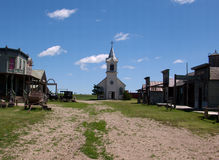 Old West Town. An old west town in South Dakota stock photography