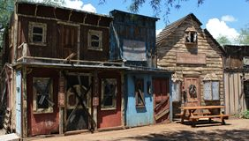 Old West Town Stock Photography