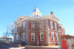 USA, AZ: Old West - Courthouse Royalty Free Stock Images