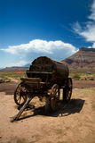 Old west water wagon stock photos