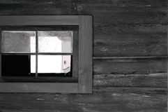 Old West Window. A fairly recent image of a barn just outside of Apache Junction, AZ. This building has since burned down Stock Images