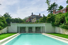 Old Westbury Gardens Mansion - Long Island Stock Images