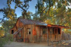 Old Western Cabin Royalty Free Stock Image