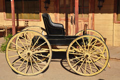 Old western carriage Royalty Free Stock Image