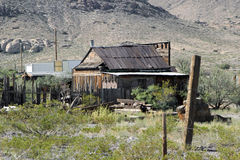 Old western farm, New Mexico Stock Images