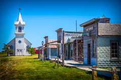 Old western ghost town Stock Photography