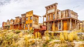 Old Western Ghost Town Royalty Free Stock Photo