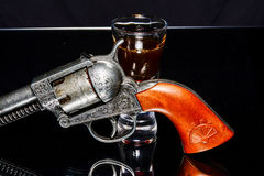 Old western gun Royalty Free Stock Images