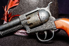 Old western gun Stock Photo