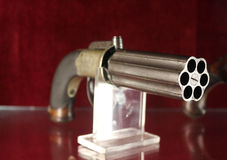 Old western gun. Photo of old western gun Stock Photo