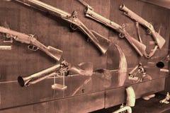 Old western gun. Photo detail of old western gun Royalty Free Stock Image