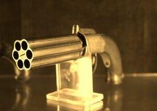 Old western gun. Photo detail of old western gun Stock Photos