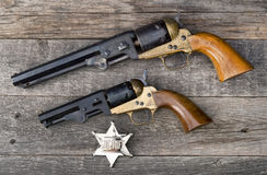 Old Western Guns. Stock Image