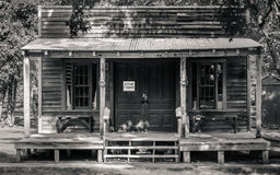 Old Western House. House in a Western Village Royalty Free Stock Photography