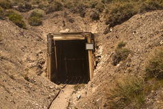 Old Western Mine Stock Photography