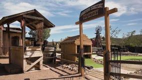 Old western theme park in Tombstone, Arizona