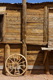 Old western theme scene Stock Image
