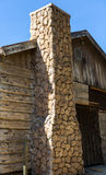 Old Western Town. A western cowboy town used as a movie set for television and cinema Royalty Free Stock Image