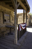Old Western Town Movie Studio Buildings. Old wild west American Western town movie studio set  buildings Stock Images