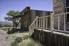 Old Wild West Town Movie Studio Sidewalk Stock Photo