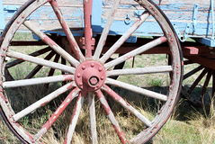 Old western wagon. Stock Photo