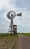 Old Western Windmill Stock Images