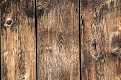 Old western wood barn background texture. Old west cowboy themed wood barn background texture - brown board pattern - vintage look worn aged wood background Stock Photo