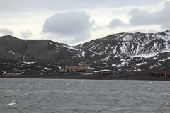 Old Whaler Station at Antarctica. An Old Whaler Station at Antarctica stock photography