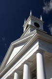 Old Whaling Church - Edgartown. The famous Old Whaling Church in Edgartown, Martha's Vineyard Stock Photo