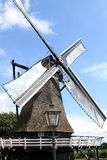 Old wheat mill in Sloten, Holland Stock Photos