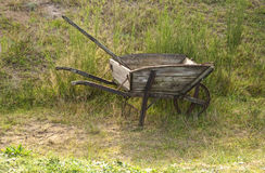 Old Wheel Barrow Stock Images