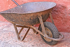 Old Wheel Barrow Royalty Free Stock Photos