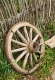 Old wheel from a cart Stock Photography