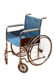 Old wheel chair Royalty Free Stock Photo