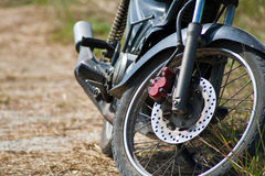 Old Wheel motorcycles. Stock Image