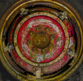 Old wheel with rust Royalty Free Stock Image