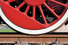 Old wheel train Royalty Free Stock Photography