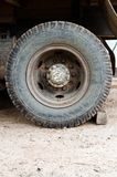 Old Wheel truck 10 wheel Royalty Free Stock Photo