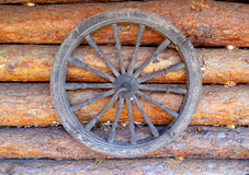 Old wheel Stock Photography