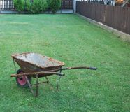 Old wheelbarrow Stock Photos