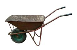 Old wheelbarrow Royalty Free Stock Photos