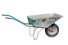 Old wheelbarrow Royalty Free Stock Photos