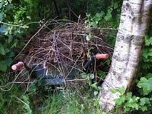 Old wheelbarrow Royalty Free Stock Photo