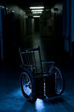 Old wheelchair Stock Image