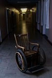 Old wheelchair Royalty Free Stock Photo
