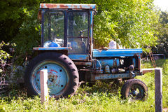 Old wheeled tractor Royalty Free Stock Photography