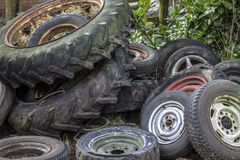 Old wheels Royalty Free Stock Photography