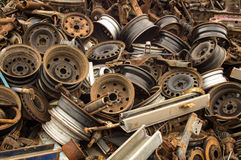 Old wheels Royalty Free Stock Photo